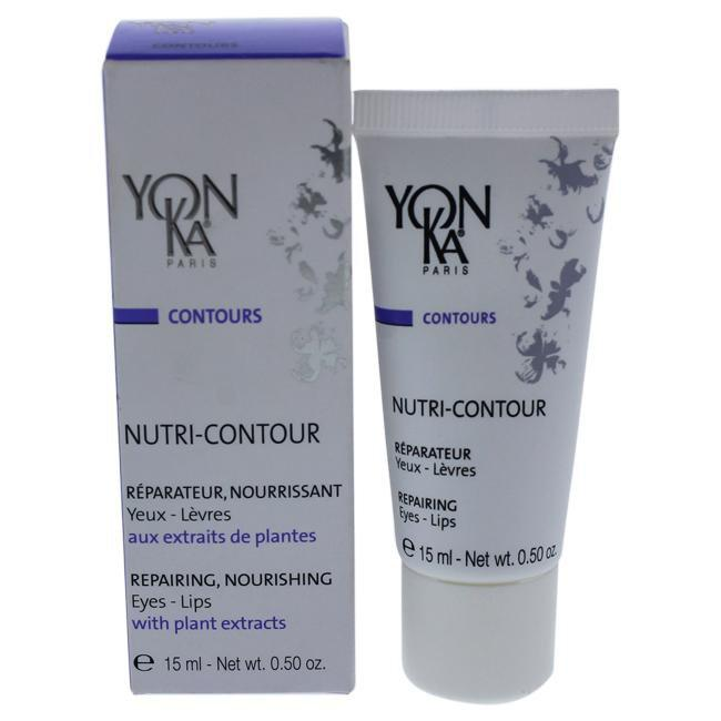 Nutri-Contour Repairing Eyes and Lips Creme by Yonka for Unisex - 0.5 oz Creme