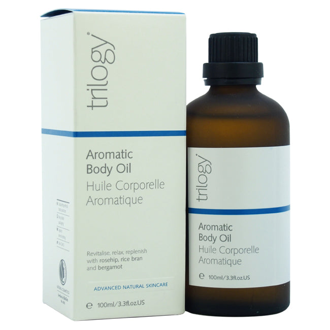 Aromatic Body Oil by Trilogy for Unisex - 3.3 oz Oil