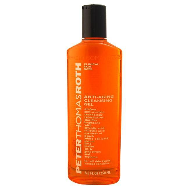 Anti-Aging Cleansing Gel by Peter Thomas Roth for Unisex - 8.5 oz Cleansing Gel