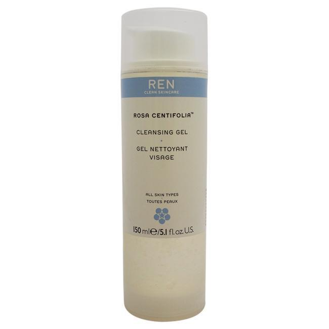 Rosa Centifolia Cleansing Gel by REN for Unisex - 5.1 oz Gel