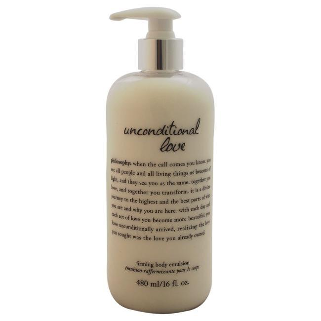 Unconditional Love Firming Body Emulsion by Philosophy for Unisex - 16 oz Body Emulsion