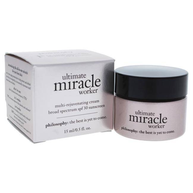 Ultimate Miracle Worker Multi-Rejuvenating Cream Broad Spectrum SPF30 by Philosophy for Unisex - 0.5