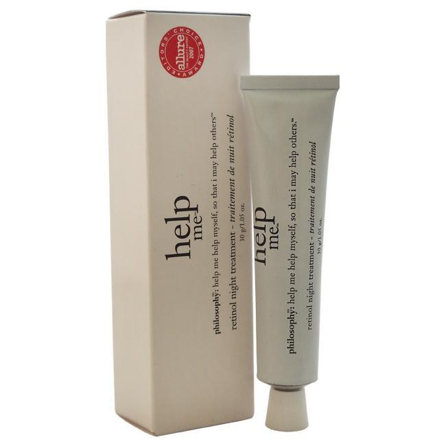 Help Me Retinol Night Treatment by Philosophy for Unisex - 1.05 oz Night Treatment