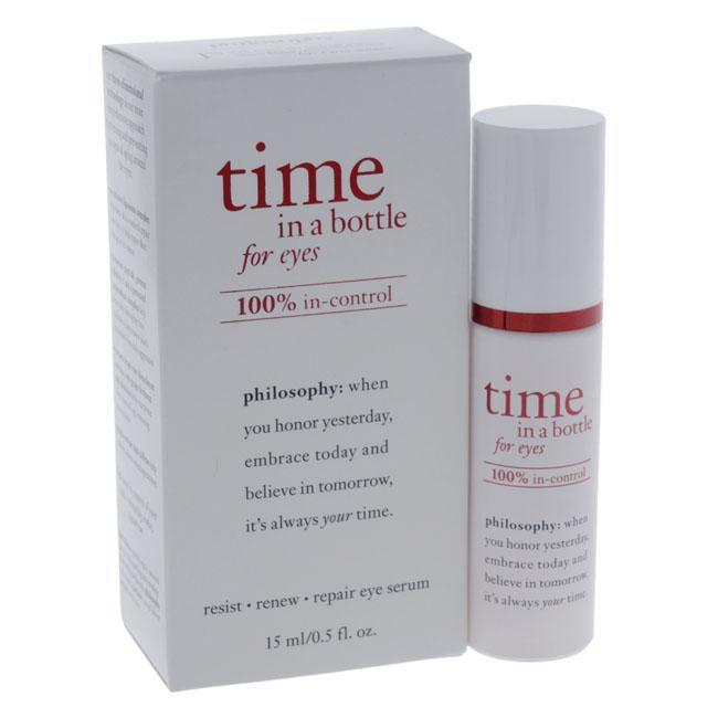 Time In a Bottle For Eyes Daily Age-Defying Serum by Philosophy for Unisex - 0.5 oz Eye Serum