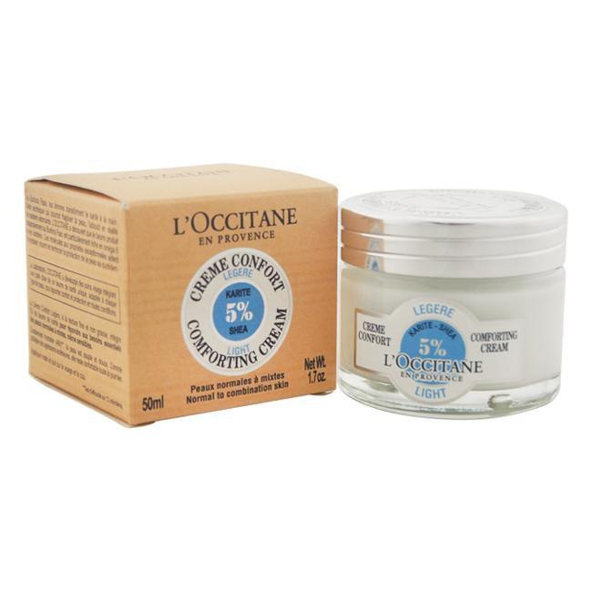 Shea Butter Light Comforting Cream by LOccitane for Unisex - 1.7 oz Cream
