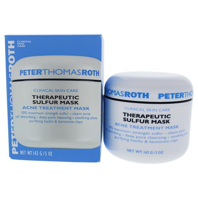 Therapeutic Sulfur Mask by Peter Thomas Roth for Unisex - 5 oz Treatment