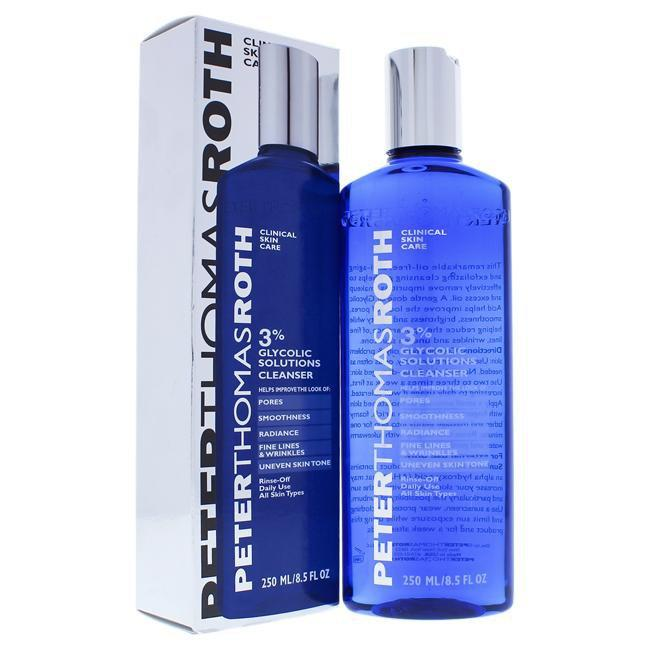 Glycolic 3 Percent Solutions Cleanser by Peter Thomas Roth for Unisex - 8.5 oz Cleanser