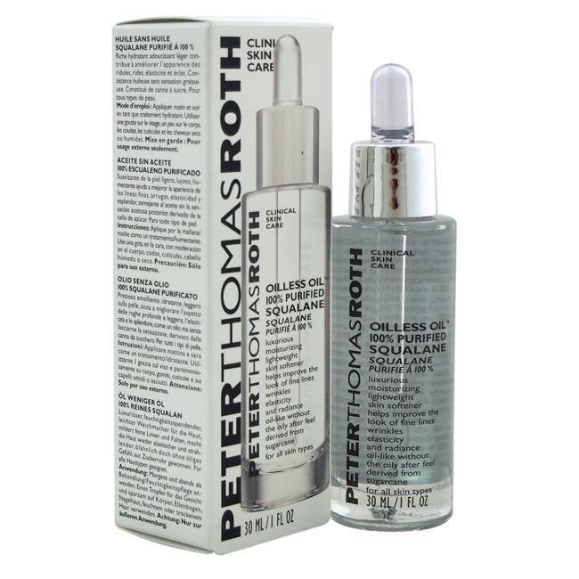 Oilless Oil 100% Purified Squalane by Peter Thomas Roth for Unisex - 1 oz Oil