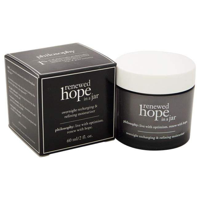 Renewed Hope In A Jar Overnight Recharging and Refining Moisturizer by Philosophy for Unisex - 2 oz M