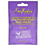 Kukui Nut and Grapeseed Oils Youth-Infusing Mud Mask by Shea Moisture for Unisex - 0.5 oz Mask