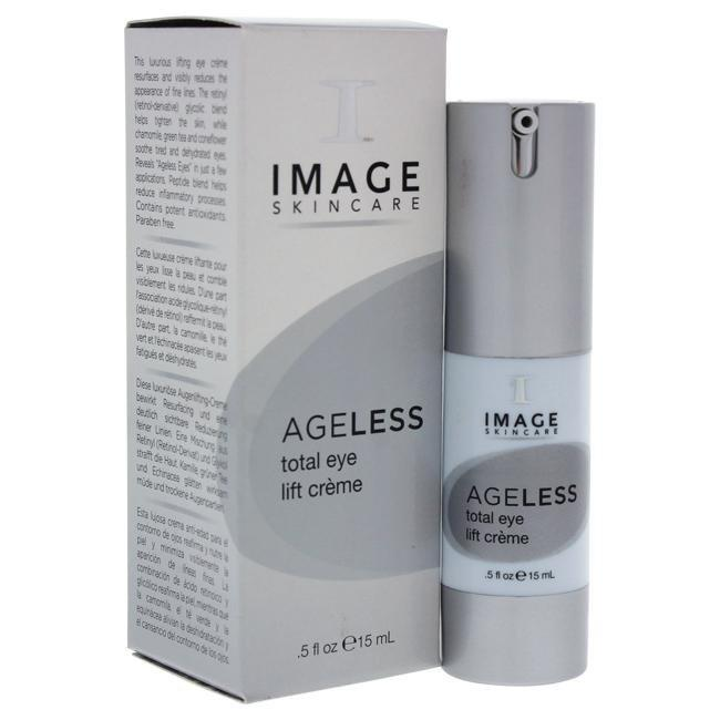 Ageless Total Eye Lift Creme by Image for Unisex - 0.5 oz Cream