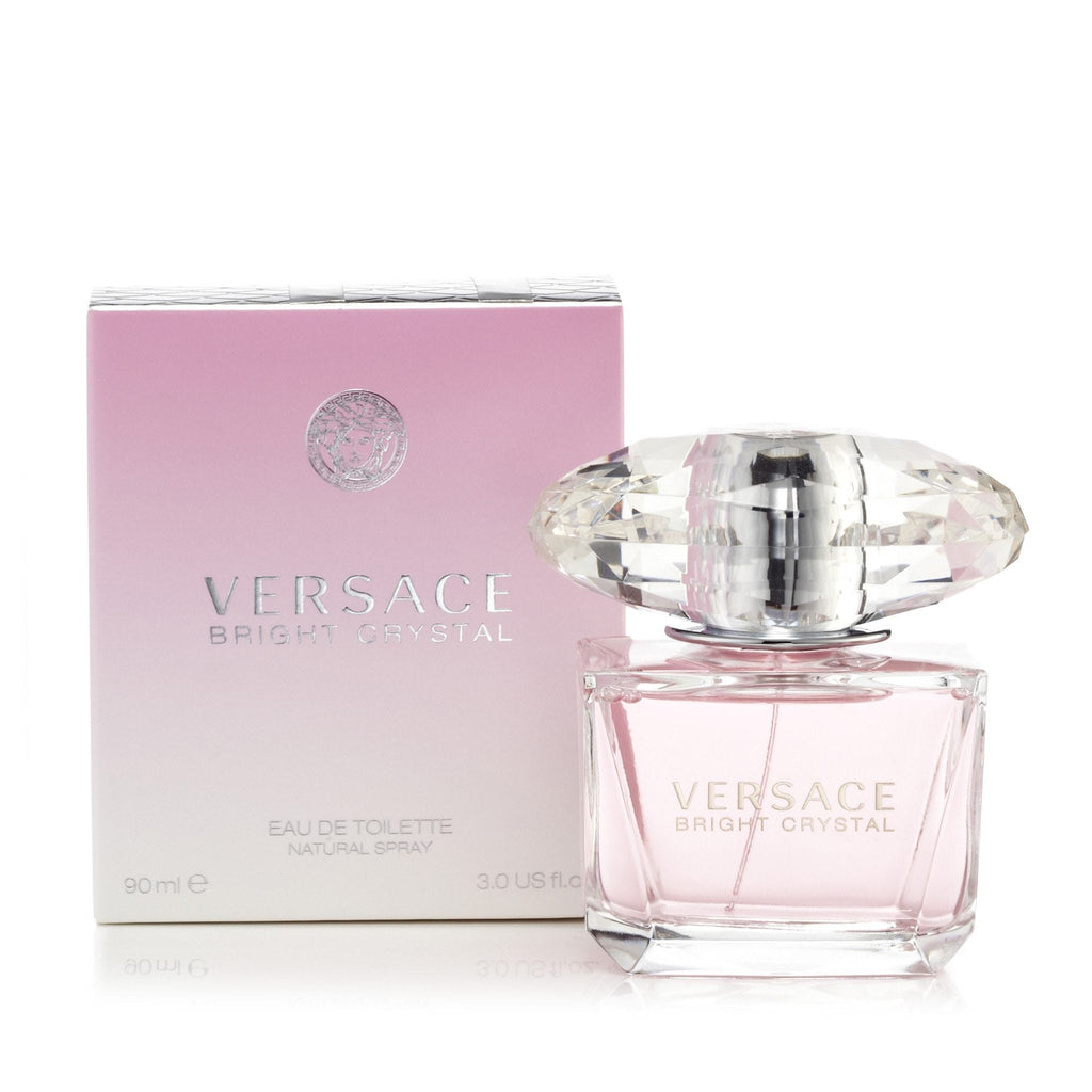 Versace Bright Crystal Eau de Toilette Womens Spray 3 oz.