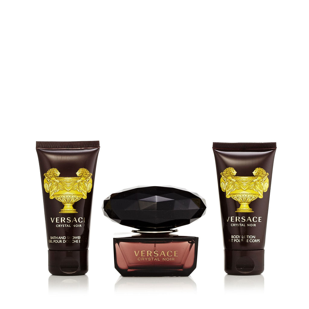 Crystal Noir Gift Set for Women by Versace 1.7 oz.