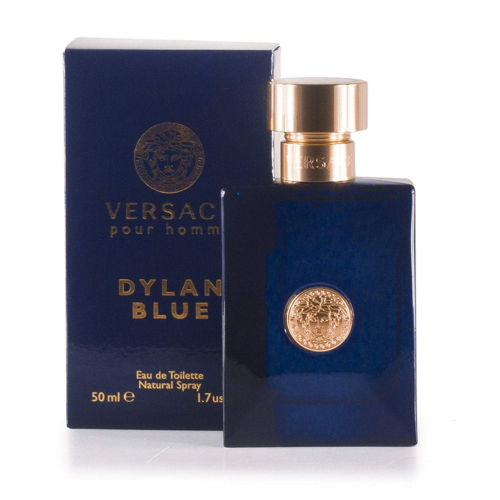 Dylan Blue Eau de Toilette Spray for Men by Versace 1.7 oz.