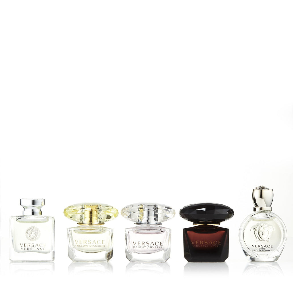 Versace Miniature Variety Gift Set for Women by Versace 0.17 oz. Each