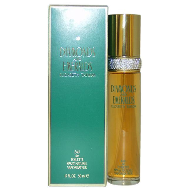 Diamonds and Emeralds by Elizabeth Taylor for Women -  Eau de Toilette - EDT/S