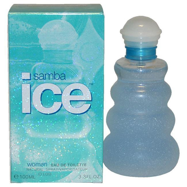 SAMBA ICE BY PERFUMERS WORKSHOP FOR WOMEN -  Eau De Toilette SPRAY