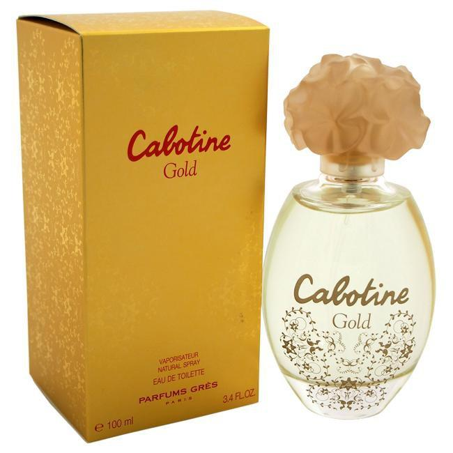 CABOTINE GOLD BY GRES FOR WOMEN -  Eau De Toilette SPRAY