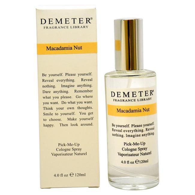 MACADAMIA NUT BY DEMETER FOR WOMEN -  COLOGNE SPRAY