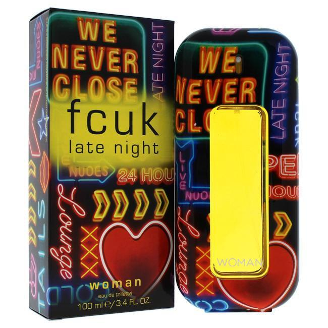 FCUK LATE NIGHT BY FRENCH CONNECTION UK FOR WOMEN -  Eau De Toilette SPRAY