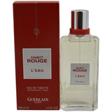 Habit Rouge Leau by Guerlain for Women -  Eau de Toilette Spray