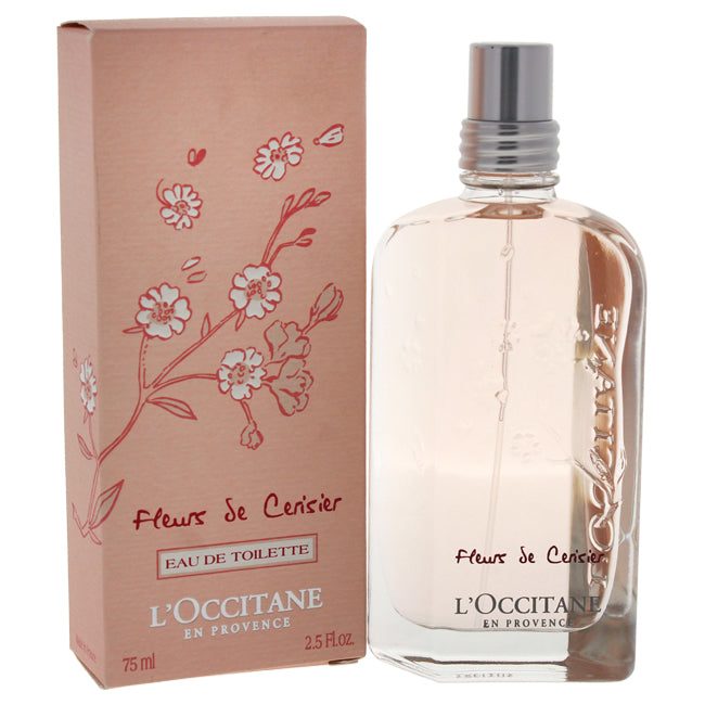 Cherry Blossom by LOccitane for Women - EDT Spray