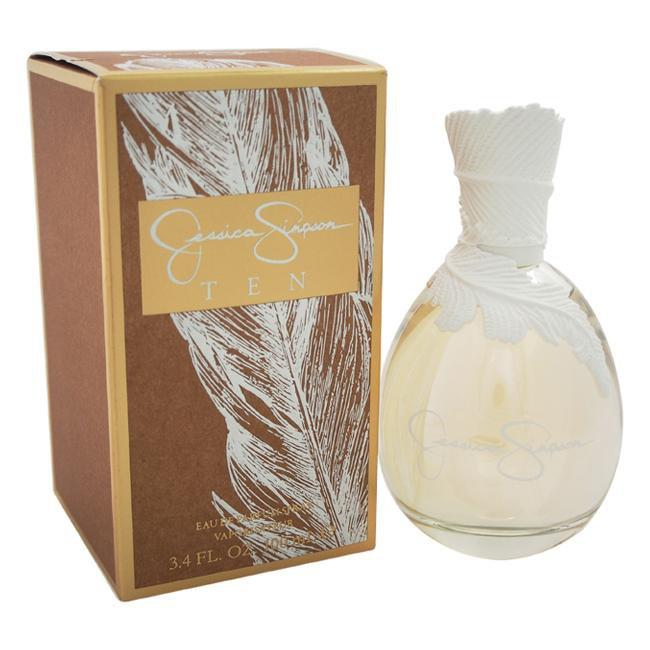 Jessica Simpson Ten For Women By Jessica Simpson Eau De Parfum Spray