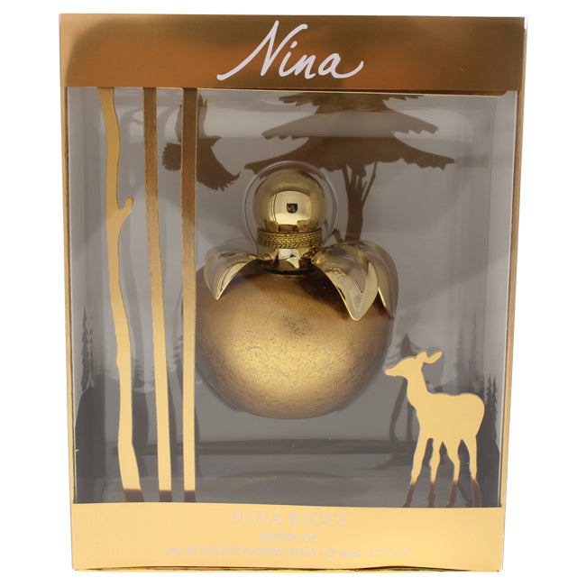 Nina Edition Or by Nina Ricci for Women - EDT Spray