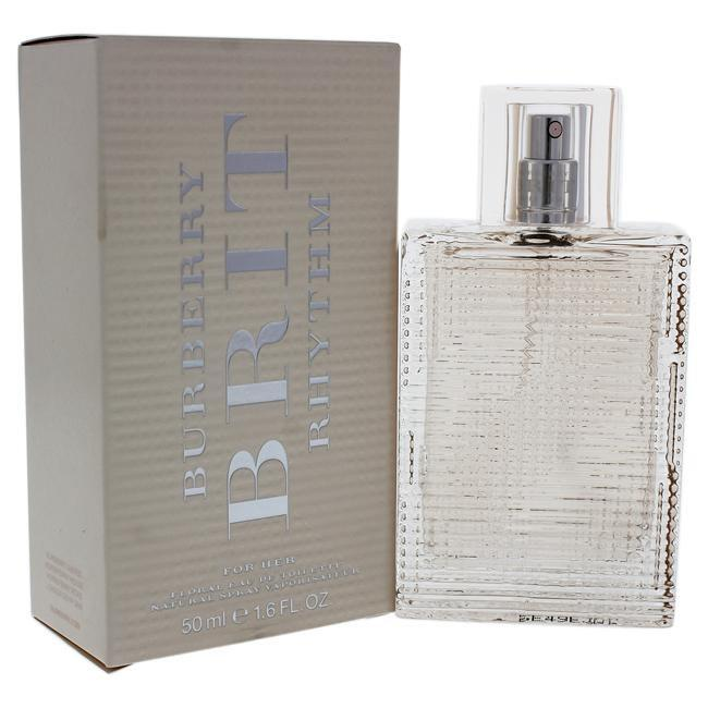 BRIT RHYTHM FOR HER FLORAL BY BURBERRY FOR WOMEN -  Eau De Toilette SPRAY
