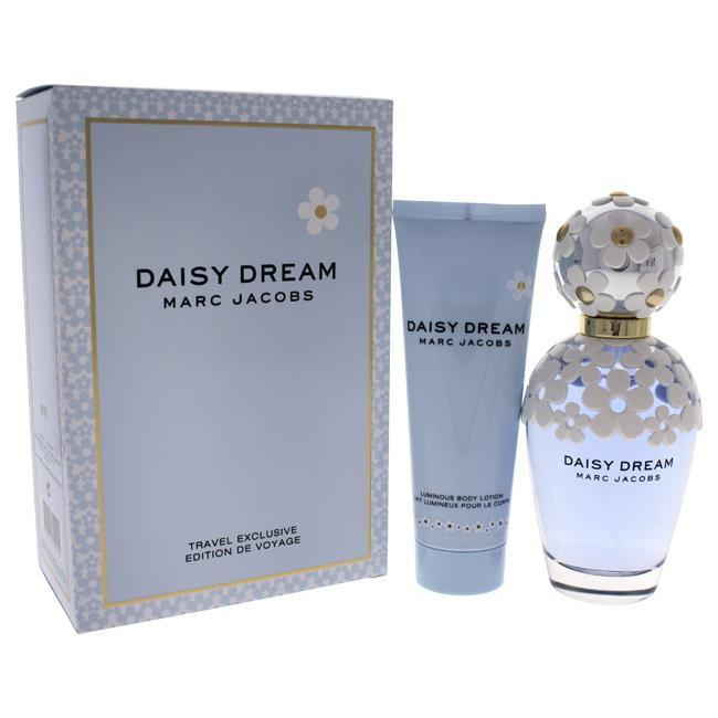 Daisy Dream by Marc Jacobs for Women - 2 Pc Gift Set 3.4oz Eau de Toilette - EDT/S, 2.5oz Luminous Body Lotion