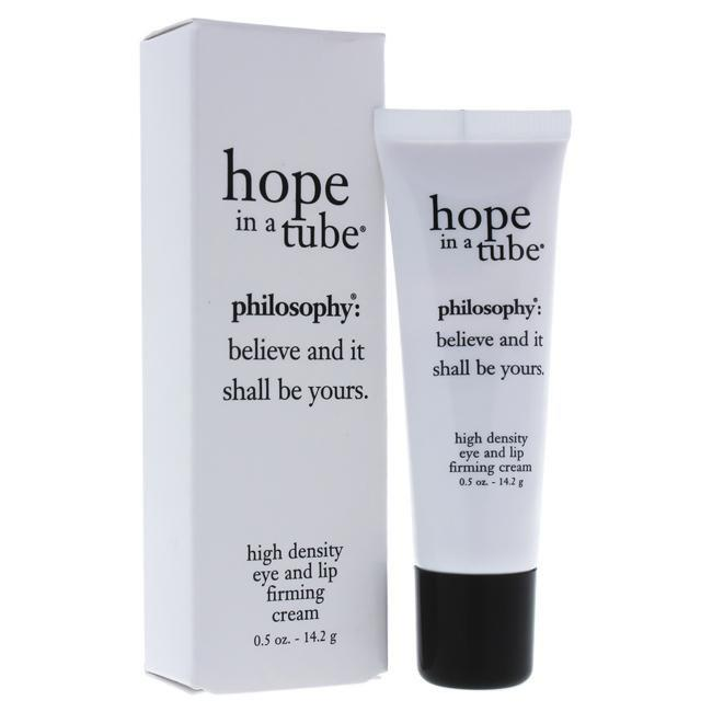 Hope In a Tube High-Density Eye and Lip Firming Cream by Philosophy for Women - 0.5 oz Firming Eye an