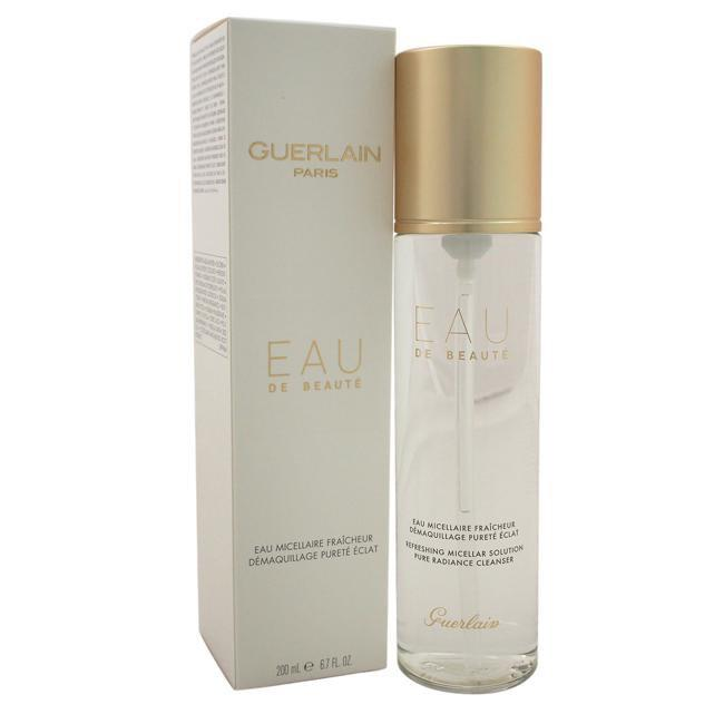 Eau De Beaute Micellar Cleansing Water by Guerlain for Women - 6.7 oz Cleansing Water