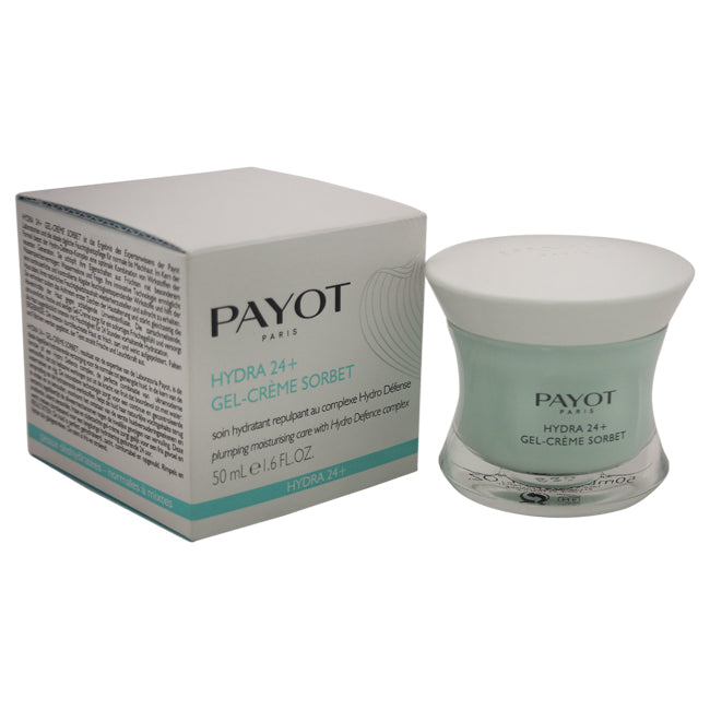 Hydra 24+ Gel-Creme Sorbet Plumping Moisturising Care by Payot for Women - 1.6 oz Cream