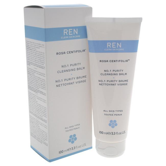 Rosa Centifolia No.1 Purity Cleansing Balm by REN for Women - 3.3 oz Cleansing Balm