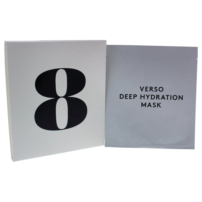 Deep Hydration Mask by Verso for Women - 4 x 0.88 oz Mask