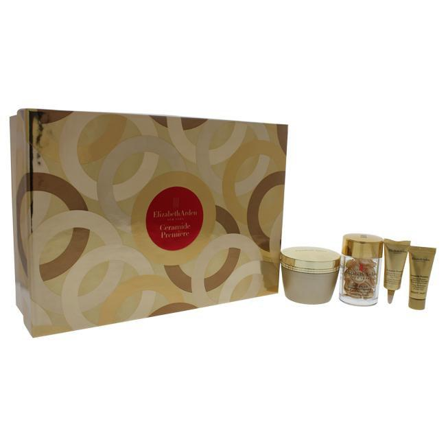 Ceramide Premiere Moisture and Renewal Set by Elizabeth Arden for Women - 4 Pc Set 1.7oz Intense Mois