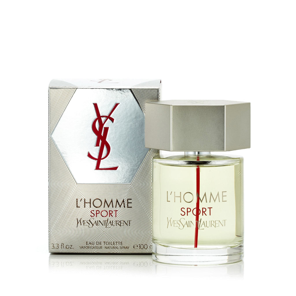 L'Homme Sport Eau de Toilette Spray for Men by Yves Saint Laurent 3.3 oz.