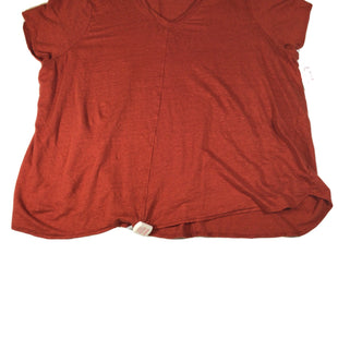 Primary Photo - BRAND: TAHARI BY ARTHUR LEVINE STYLE: TOP SHORT SLEEVE BASIC COLOR: RUST SIZE: 3X SKU: 213-213150-86