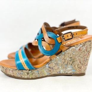 Primary Photo - BRAND: SPRING STEP STYLE: SHOES HIGH HEEL COLOR: TURQUOISE SIZE: 6.5 SKU: 213-213149-3925