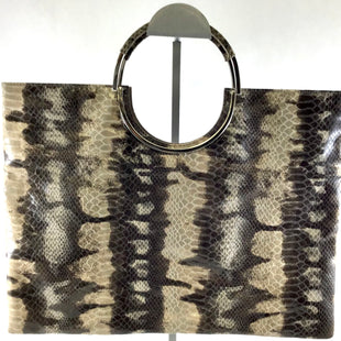 Primary Photo - BRAND: LODIS STYLE: CLUTCH COLOR: SNAKESKIN PRINT SKU: 213-213118-29847