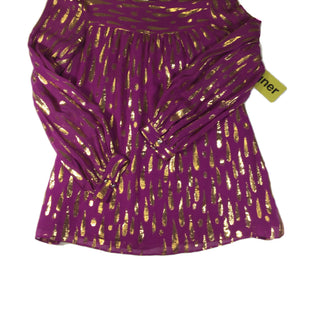 Primary Photo - BRAND: MILLY STYLE: TOP DESIGNER COLOR: PURPLE SIZE: 10 OTHER INFO: SILK SKU: 213-213135-6404