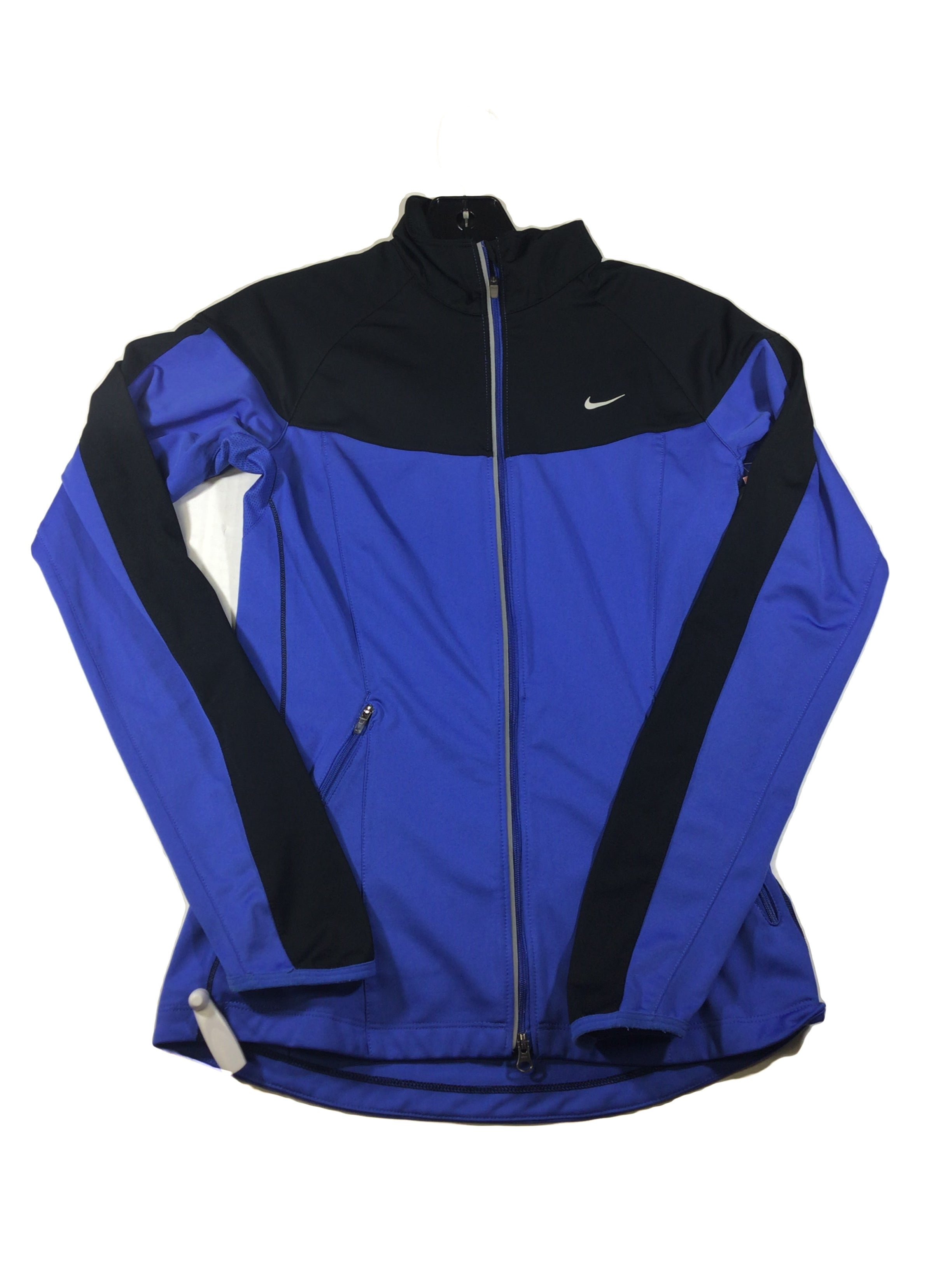 Primary Photo - BRAND: NIKE <BR>STYLE: ATHLETIC JACKET <BR>COLOR: ROYAL BLUE <BR>SIZE: XS <BR>SKU: 213-213143-3157