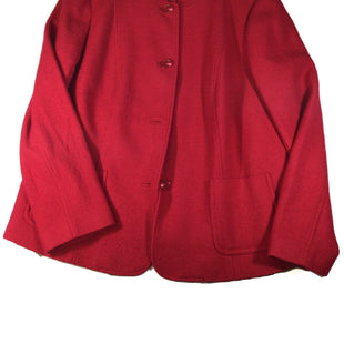 Primary Photo - BRAND: TALBOTS O STYLE: COAT WOOL COLOR: RED SIZE: 18 SKU: 213-213143-7140