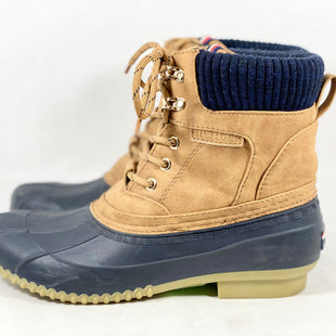 Primary Photo - BRAND: TOMMY HILFIGER STYLE: BOOTS RAIN COLOR: NAVY SIZE: 8 SKU: 213-213135-7292