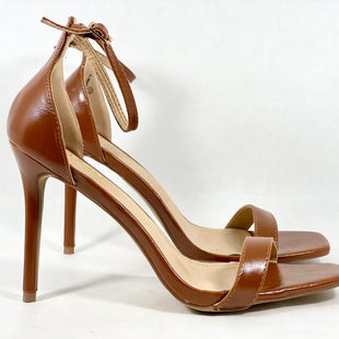 Primary Photo - BRAND: LULUS STYLE: SHOES HIGH HEEL COLOR: BROWN SIZE: 11 SKU: 213-213149-3952