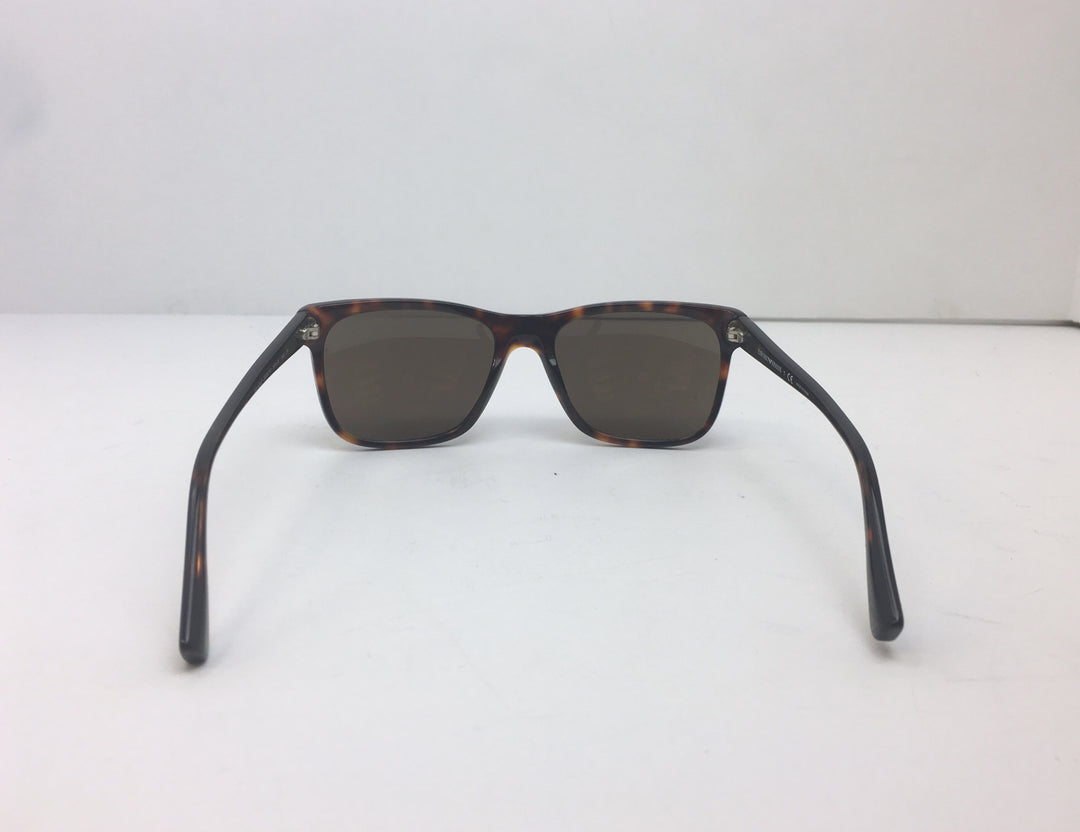 Photo #2 - BRAND: EMPORIO ARMANI<BR>STYLE: SUNGLASSES<BR>COLOR: BROWN<BR>SKU: 213-213118-27029<BR><BR>EMPORIO ARMANI TORTOISESHELL SUNGLASSES WITH CASE. MEASUREMENTS 55,18,140. MADE IN CHINA.