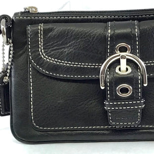 Primary Photo - BRAND: COACH O STYLE: WALLET COLOR: BLACK SIZE: MEDIUM SKU: 213-21394-39366