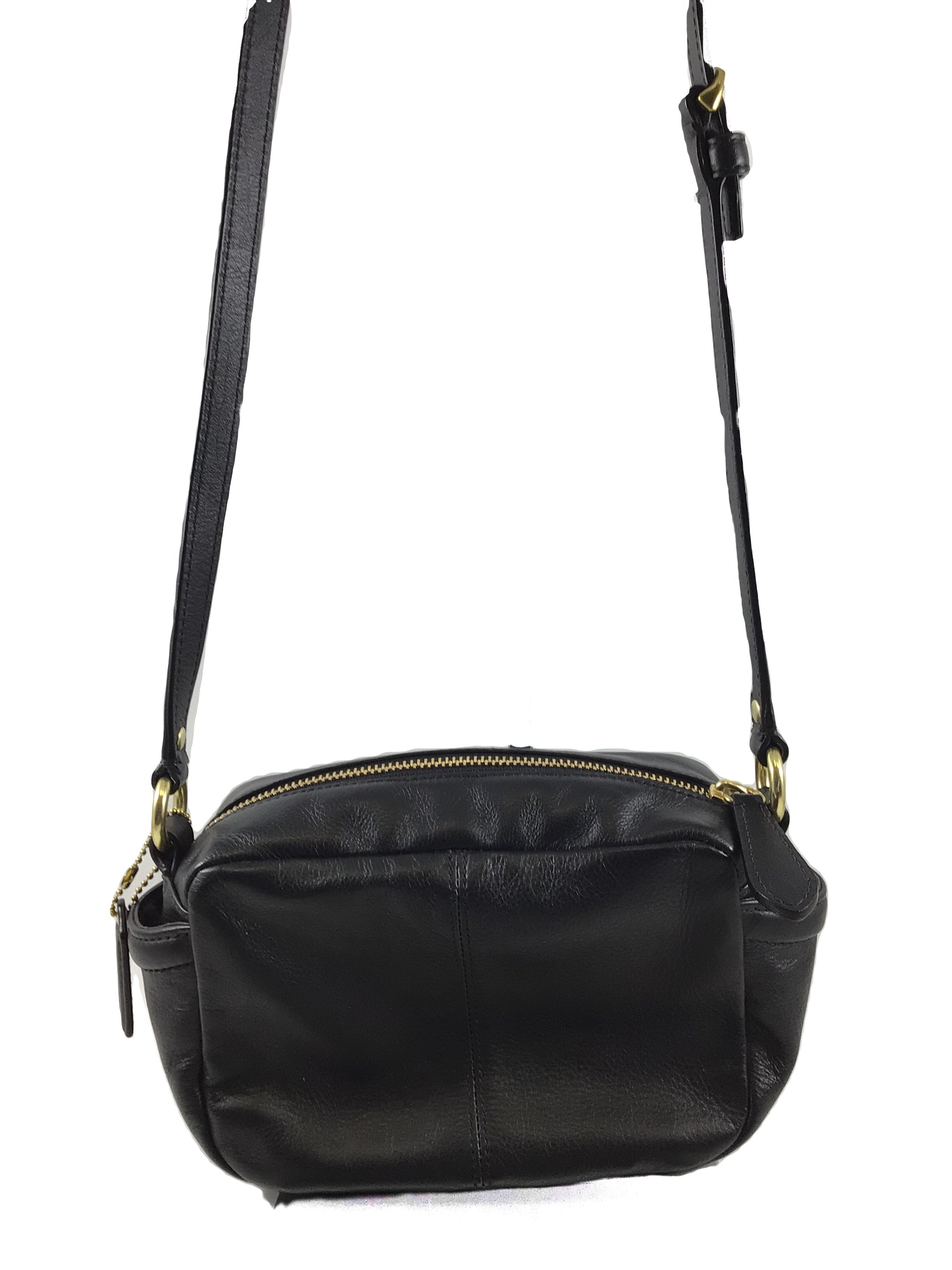 Photo #1 - BRAND: COACH <BR>STYLE: HANDBAG DESIGNER <BR>COLOR: BLACK <BR>SIZE: SMALL <BR>SKU: 213-213106-23691