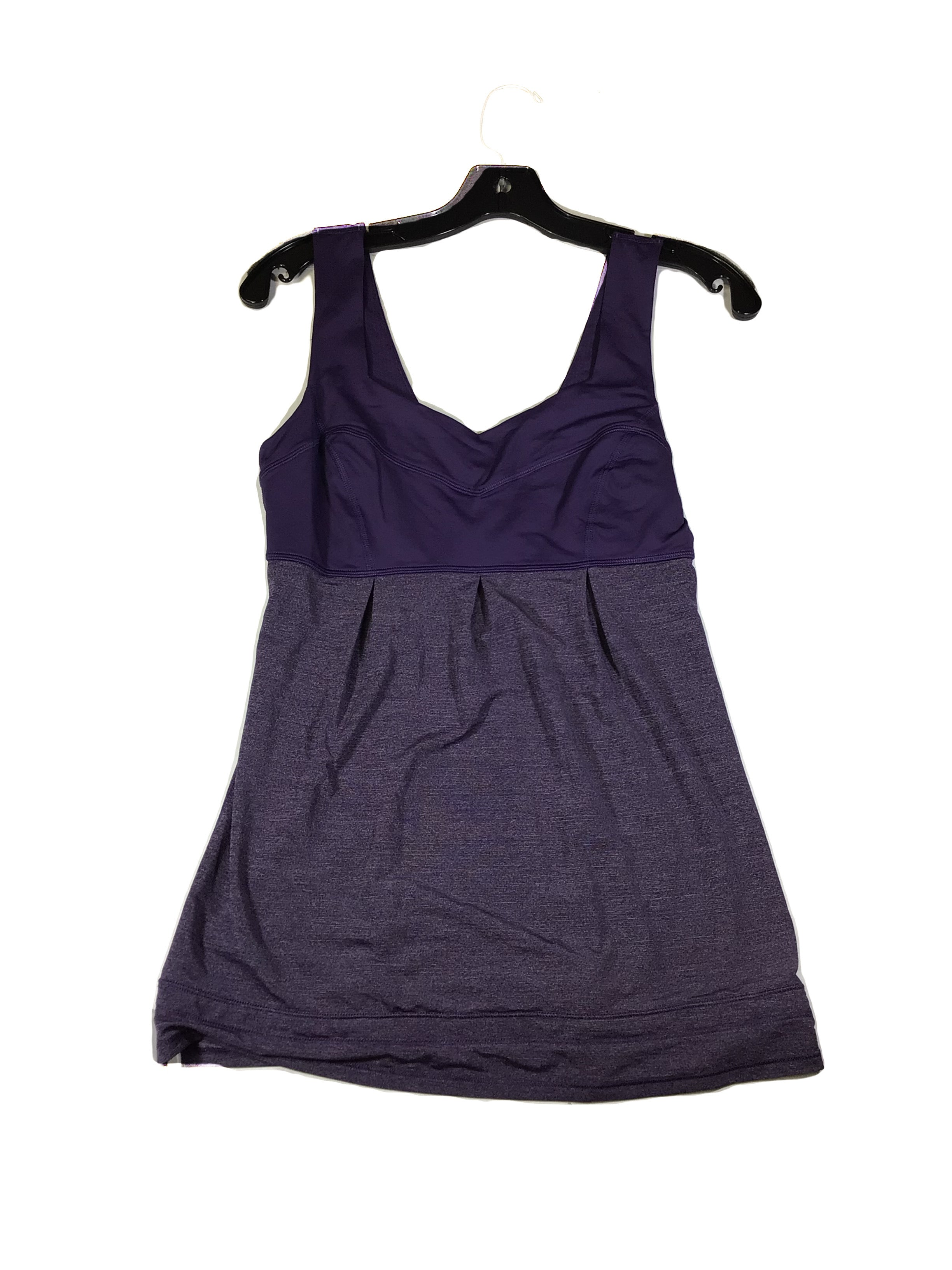 Primary Photo - BRAND: LULULEMON <BR>STYLE: ATHLETIC TANK TOP <BR>COLOR: PURPLE <BR>SIZE: 6 <BR>SKU: 213-213154-323<BR>LULU LEMON