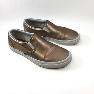 Primary Photo - BRAND: VANS STYLE: SHOES FLATS COLOR: METALLIC SIZE: 8.5 SKU: 213-213118-33370